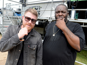 Rappers El-P and Killer Mike of Run the Jewels