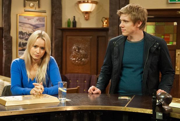 Aaron betrays robert to katie emmerdale spoiler soaps digital