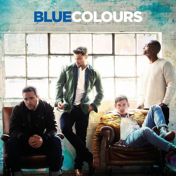 Artwork for Blue's new album Colours