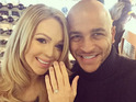 Katie Piper and fiancé Richard James Sutton