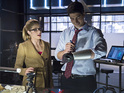 Felicity Smoak brings her boss Ray Palmer to Central City in a new episode.