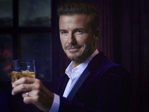 David Beckham toasts to the global launch of HAIG CLUB