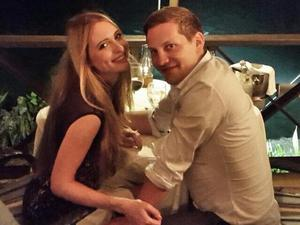 James Sutton proposes to girlfriend Kit Williams