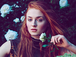 Sophie Turner in Town & Country magazine