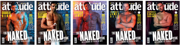 Attitude naked edition covers