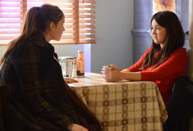 Lauren tells a stunned Stacey she knows what happened to Lucy