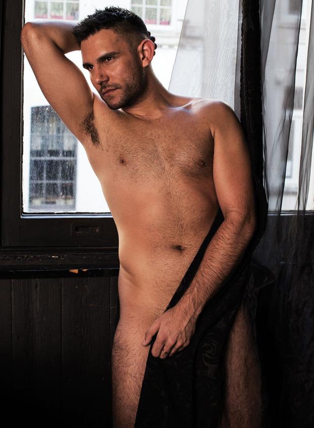 Sanjay Sood-Smith poses for Attitude magazine