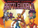 The four-issue series sees Marvel characters fighting on Battleworld.