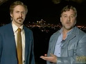 Gosling 'mistakenly' congratulates Crowe at the Australian Academy awards.