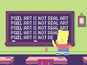 Watch The Simpsons intro as pixel art