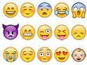 The celebrities who use emojis the most are also revealed. Find out who's number one...