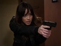 The clip sees Chloe Bennet's character explain there is something 'inhuman' inside her.