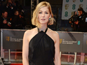 See Michael Keaton, Rosamund Pike and more from the BAFTAs red carpet.