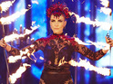 """Claire Richards admits to being """"absolutely terrified"""" about the stunt."""