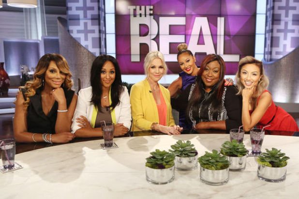 The real sees hosts including tamar braxton and adrienne bailon