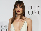 Dakota Johnson attends  the UK Premiere of Fifty Shades Of Grey