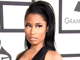 Nicki Minaj arriving at the 57th Annual Grammy Awards