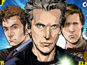 Titan announces a new monthly series with tales of the Tenth, Eleventh and Twelfth Doctors.