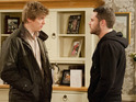 Aaron decides that it's time to cut ties with Robert in tonight's episode.