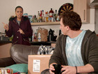 Coronation Street spoiler video: Steph Britton meets the real Gavin