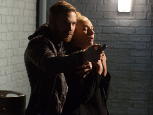 Dean takes Nancy hostage