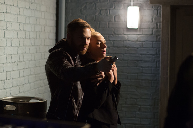 Dean takes Nancy hostage