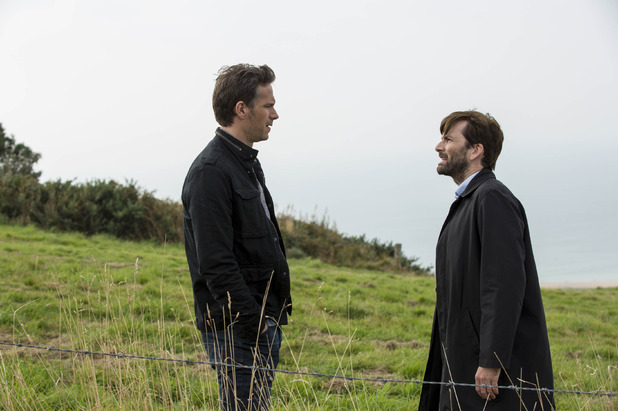 James D'Arcy and David Tennant in Broadchurch S02E07