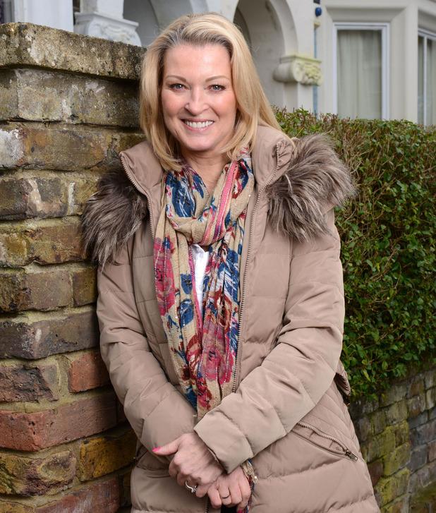 Gillian Taylforth as Kathy Beale in EastEnders