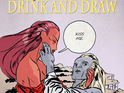 Edinburgh Drink and Draw celebrates a late Valentine's Day and Sunderland gets a comic con.