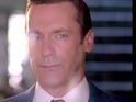 Jon Hamm and Elisabeth Moss say goodbye to Mad Men in new promo.