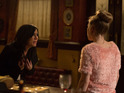 Kat goes head-to-head with Linda after breaking into the Queen Vic.