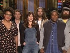 Dakota Johnson doesn't have to take her clothes off in new SNL promo