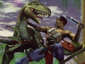 Turok: Dinosaur Hunter box art