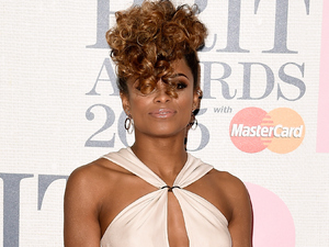 Fleur East attends the BRIT Awards 2015 at The O2 Arena