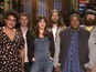 Dakota Johnson keeps her clothes on for SNL