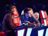 will.i.am, Ricky Wilson, Tom Jones on The Voice