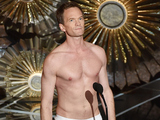 Neil Patrick Harris on stage during the Oscars