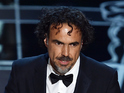Alejandro González Iñárritu invoked Michael Keaton's underwear in his speech.