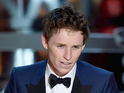 Redmayne wins the top prize for his portrayal of Stephen Hawking.