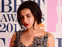 Charli XCX attends the BRIT Awards 2015 at The O2 Arena