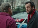 Adam Sandler discovers magic shoe repair device in trailer for The Cobbler.