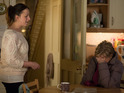 Carol has a vulnerable moment in front of her daughter Sonia tonight.