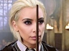"Tom Felton on Kim Kardashian West's new hair: ""Kanye has a Draco fetish"""