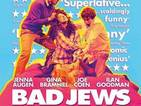 Bad Jews play poster banned on London Underground