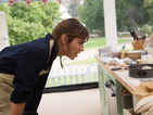Great Comic Relief Bake Off: Alexa Chung gets to grips with an oven