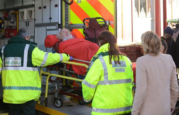 Stan is taken to hospital