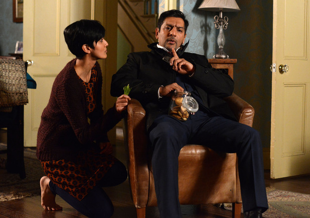 Masood reveals the disappointing outcome of his meeting.