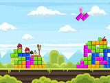 Angry Birds retro inspired levels