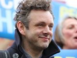 Michael Sheen joins the Peoples' March for the NHS in Wales