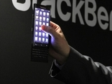 New BlackBerry smartphone with drop down keyboard
